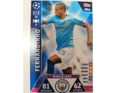 Macht Attax Champions League 2019 FERNANDINHO Nº 153