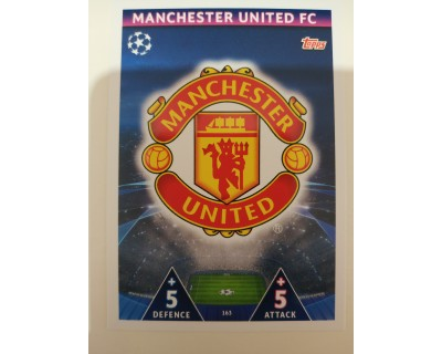 Macht Attax Champions League 2019 ESCUDO Nº 163