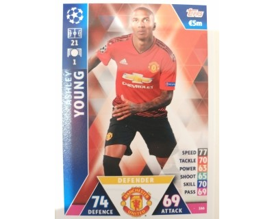 Macht Attax Champions League 2019 YOUNG Nº 166