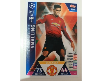 Macht Attax Champions League 2019 SMALLING Nº 167