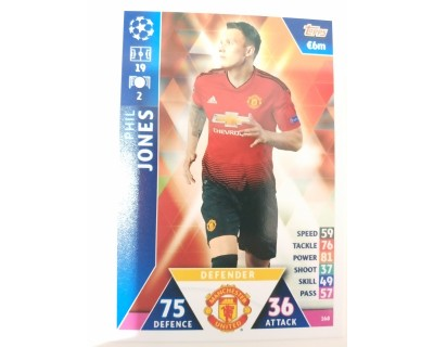 Macht Attax Champions League 2019 JONES Nº 168