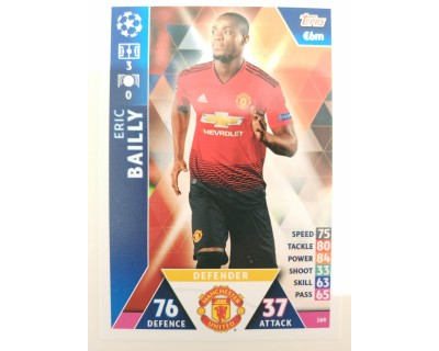 Macht Attax Champions League 2019 BAILLY Nº 169