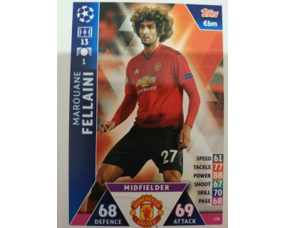 Macht Attax Champions League 2019 FELLAINI Nº 174