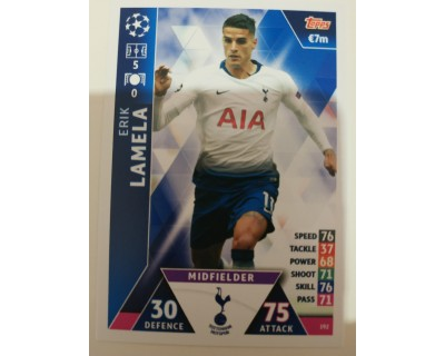 Macht Attax Champions League 2019 LAMELA Nº 192