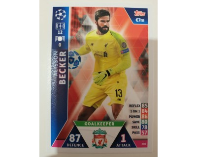 Macht Attax Champions League 2019 BECKER Nº 200