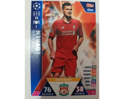 Macht Attax Champions League 2019 LOVREN Nº 202
