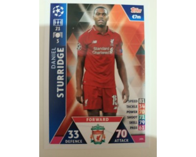 Macht Attax Champions League 2019 STURRIDGE Nº 204