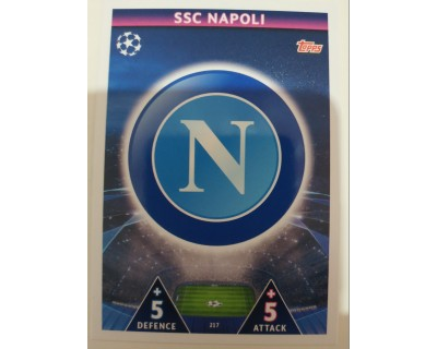 Macht Attax Champions League 2019 ESCUDO Nº 217
