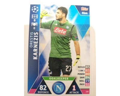 Macht Attax Champions League 2019 KARNEZIS Nº 218