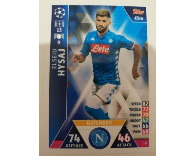 Macht Attax Champions League 2019 HYSAJ Nº 219