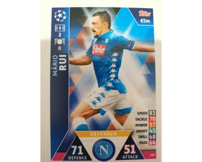 Macht Attax Champions League 2019 RUI Nº 220
