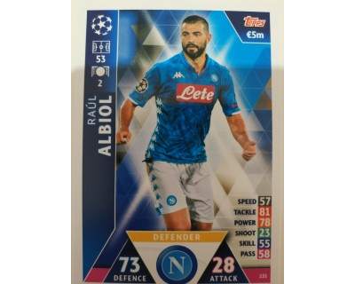 Macht Attax Champions League 2019 ALBIOL Nº 221