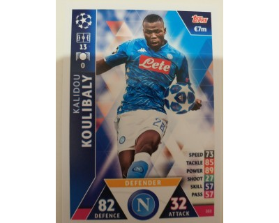 Macht Attax Champions League 2019 KOULIBALY Nº 222