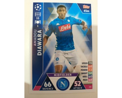 Macht Attax Champions League 2019 DIAWARA Nº 226
