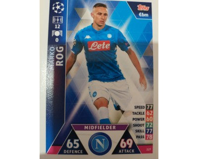 Macht Attax Champions League 2019 ROG Nº 227