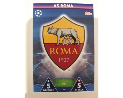 Macht Attax Champions League 2019 ESCUDO Nº 235