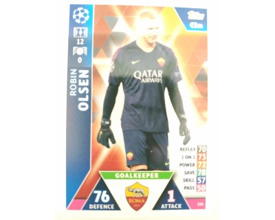 Macht Attax Champions League 2019 OLSEN Nº 236