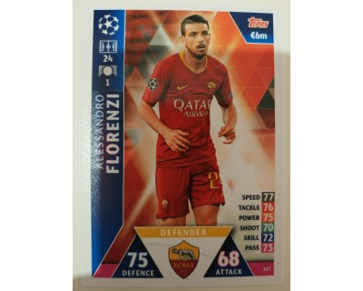 Macht Attax Champions League 2019 FLORENZI Nº 237