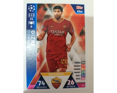 Macht Attax Champions League 2019 FAZIO Nº 239
