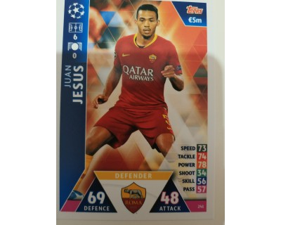 Macht Attax Champions League 2019 JESUS Nº 241