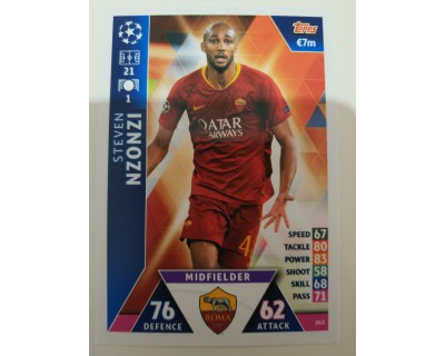 Macht Attax Champions League 2019 NZONZI Nº 243