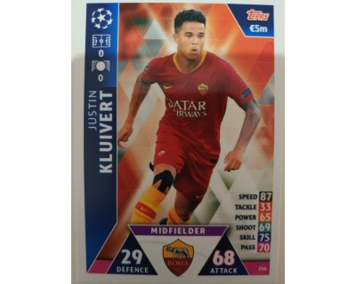 Macht Attax Champions League 2019 KLUIVERT Nº 246