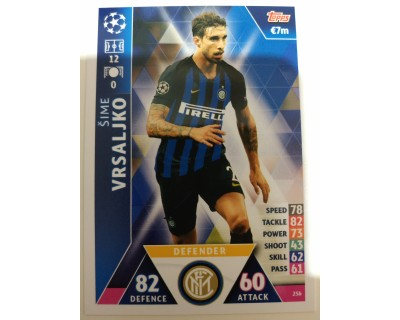Macht Attax Champions League 2019 VRSALJJKO Nº 256