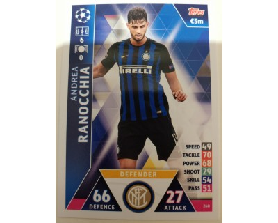 Macht Attax Champions League 2019 RANOCCHIA Nº 260
