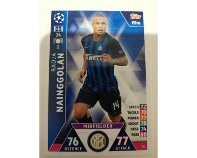 Macht Attax Champions League 2019 NAINGGOLAN Nº 261