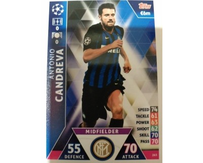 Macht Attax Champions League 2019 CANDREVA Nº 263
