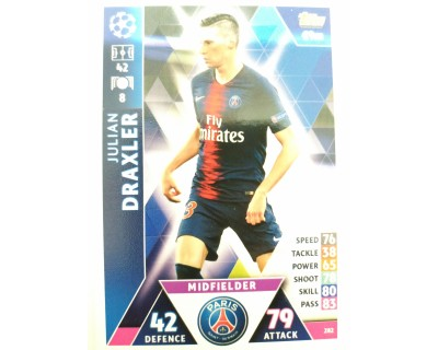 Macht Attax Champions League 2019 DRAXLER Nº 282