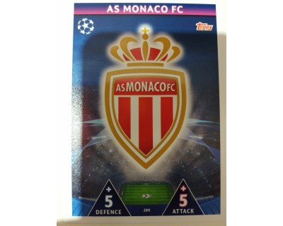 Macht Attax Champions League 2019 ESCUDO Nº 289