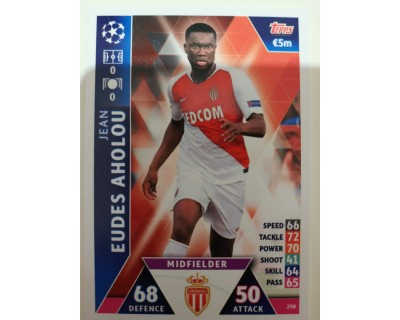 Macht Attax Champions League 2019 EUDES AHOLOU Nº 298