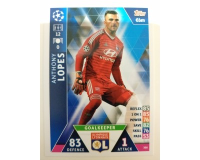 Macht Attax Champions League 2019 LOPES Nº 308