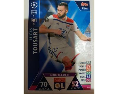 Macht Attax Champions League 2019 TOUSART Nº 315