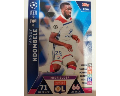 Macht Attax Champions League 2019 NDOMBELE Nº 317