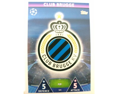 Macht Attax Champions League 2019 ESCUDO Nº 325