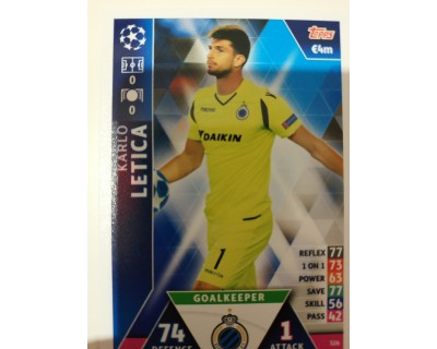 Macht Attax Champions League 2019 LETICA Nº 326