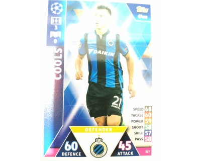 Macht Attax Champions League 2019 COOLS Nº 327