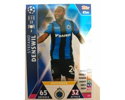 Macht Attax Champions League 2019 DENSWIL Nº 328