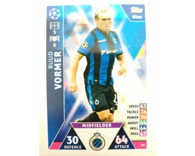 Macht Attax Champions League 2019 VORMER Nº 335