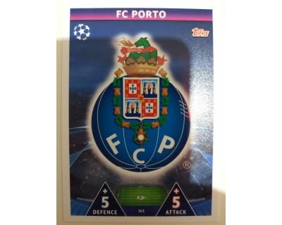 Macht Attax Champions League 2019 ESCUDO Nº 343