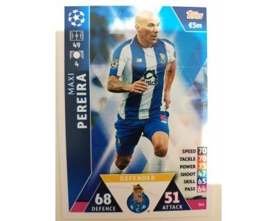Macht Attax Champions League 2019 PEREIRA Nº 345