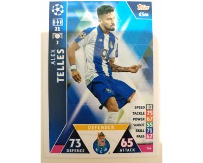 Macht Attax Champions League 2019 TELLES Nº 346