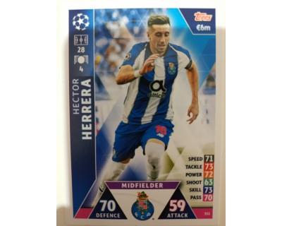 Macht Attax Champions League 2019 HERRERA Nº 351