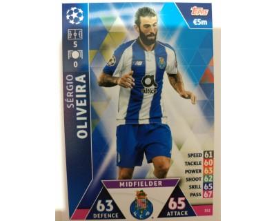 Macht Attax Champions League 2019 OLIVEIRA Nº 352