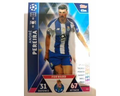 Macht Attax Champions League 2019 PEREIRA Nº 355