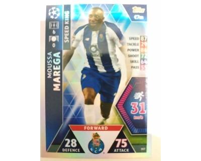 Macht Attax Champions League 2019 MAREGA Nº 357 SPEED KING