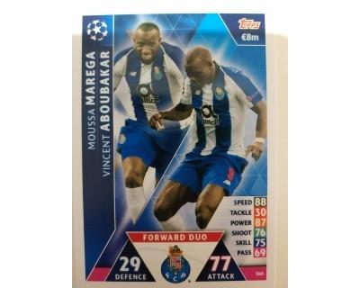Macht Attax Champions League 2019 FORWARD DUO Nº 360