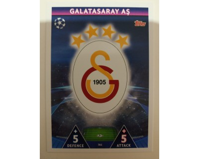 Macht Attax Champions League 2019 ESCUDO Nº 361